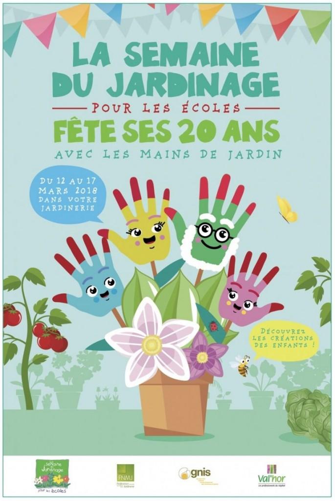 Semaine du Jardinage à l' école : 20ème édition